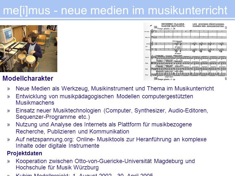 me[i]mus - neue medien im musikunterricht